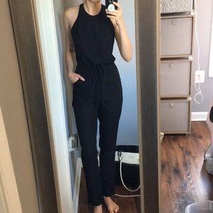 Doe & Rae Black Jumpsuit